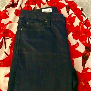 Gap Authentic 1969 Real Straight Jeans. Dark Blue